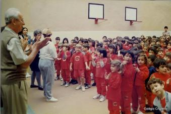 1997 - Cruzeirinho da unidade Centro comemora aniversário do Diretor Udo Dengler