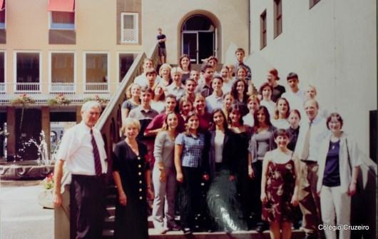 1999 - Viagem de Estudos à Alemanha do Colégio Cruzeiro - Centro