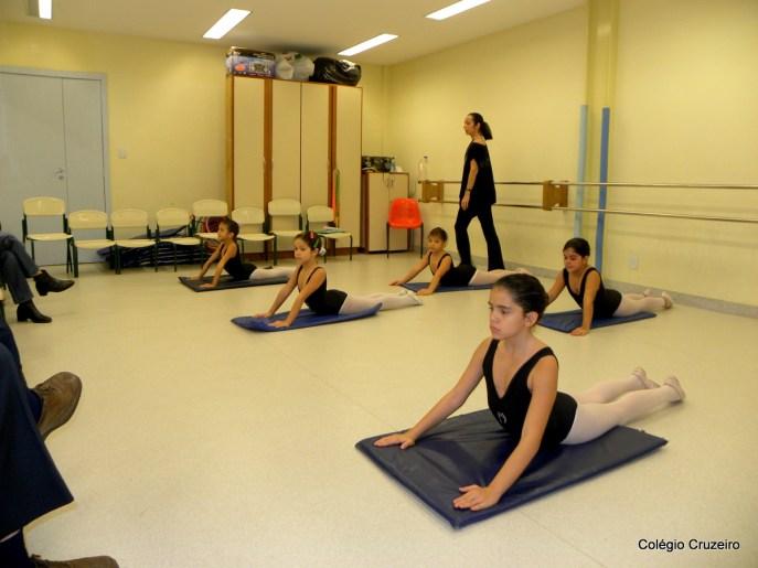 2011 - Alunas na turma de Ballet do Colégio Cruzeiro - Centro