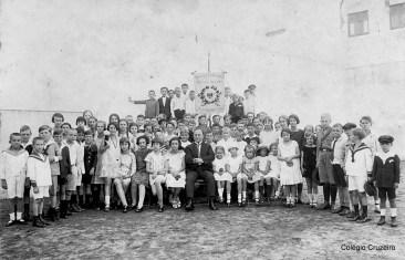1925 - Inauguração de uma das ampliações realizadas no Colégio