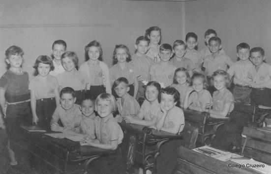 1954 - Turma do Segundo Primário do Colégio Cruzeiro