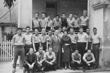 1957 - Turma de Ginásio Masculino do Colégio Cruzeiro - Centro