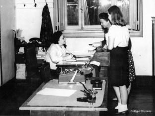 1964 - Dona Iacy, Secretaria do Colégio Cruzeiro - Centro
