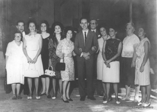 1965 - Corpo Docente do Colégio Cruzeiro - Centr