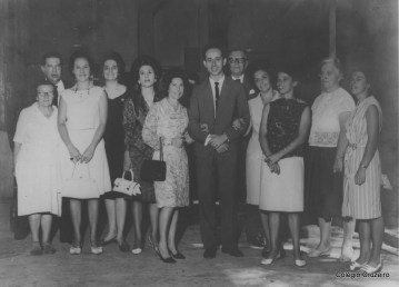 1965 - Parte do Corpo Docente do Colégio Cruzeiro - Centro