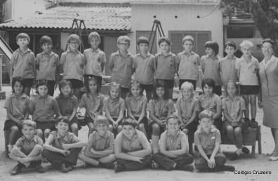 1971 - 2º ano do Ensino Fundamental do Colégio Cruzeiro - Centro
