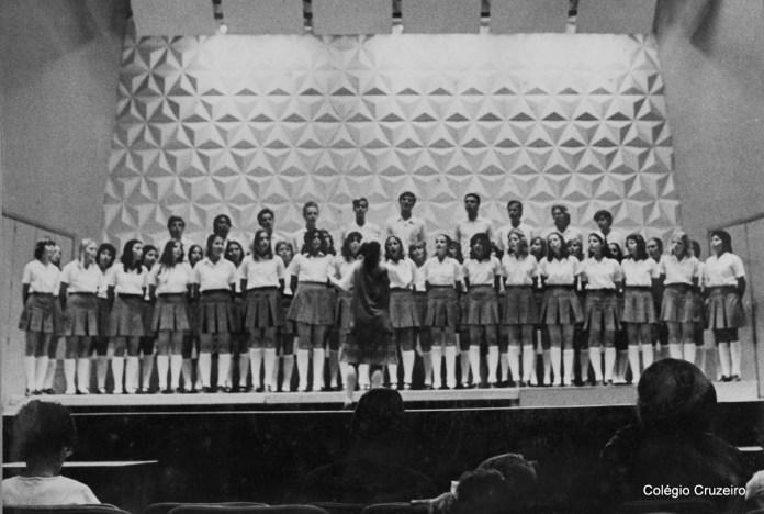 1974 - I Encontro de Corais no Teatro Cecília Meirelles