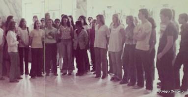 1977 - Apresentação do Coro do Colégio Cruzeiro