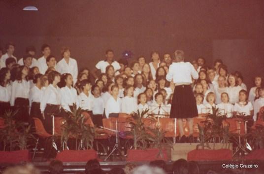 1982 - Encontro musical em comemoração aos 120 anos do Colégio Cruzeiro - Centro