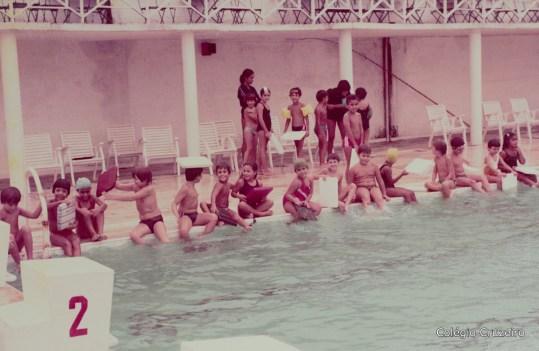 1983 - Aula de natação