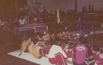 1983 - Colégio Cruzeiro - Centro em competição esportiva