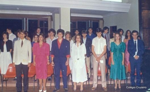 1986 - Formatura de alunos do Colégio Cruzeiro - Centro