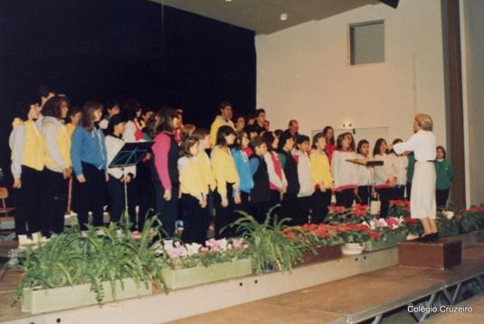 1987 - Viagem do Coro à Alemanha em comemoração aos 125 anos do Colégio Cruzeiro