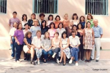 1993 - Corpo Docente do Colégio Cruzeiro - Centro