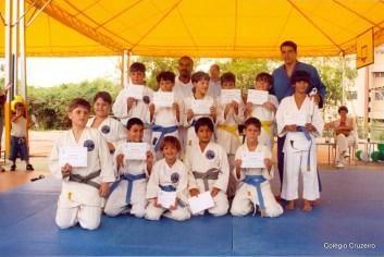 2002 - Equipe de Judô do Colégio Cruzeiro - Jacarepaguá
