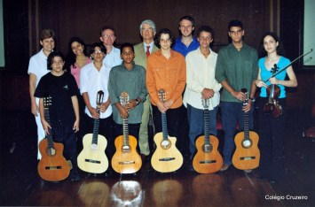 2003 - Visita do Cônsul da Alemanha ao Colégio Cruzeiro - Centro