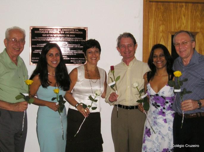 2004 - Inauguração Cruzeirinho do Colégio Cruzeiro - Jacarepaguá