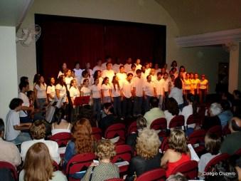 2005 - Apresentação dos alunos do Colégio Cruzeiro no Show do Coral