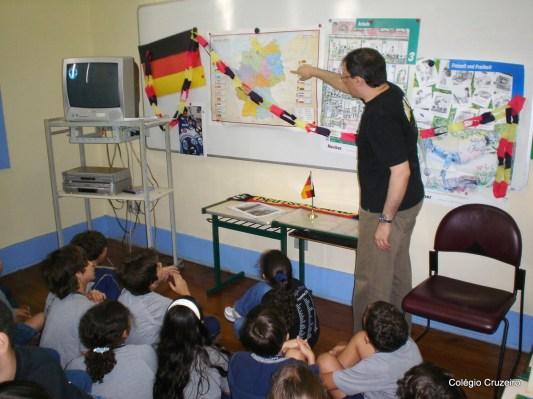 2007 - Atividade na Aula de Alemão da unidade Centro