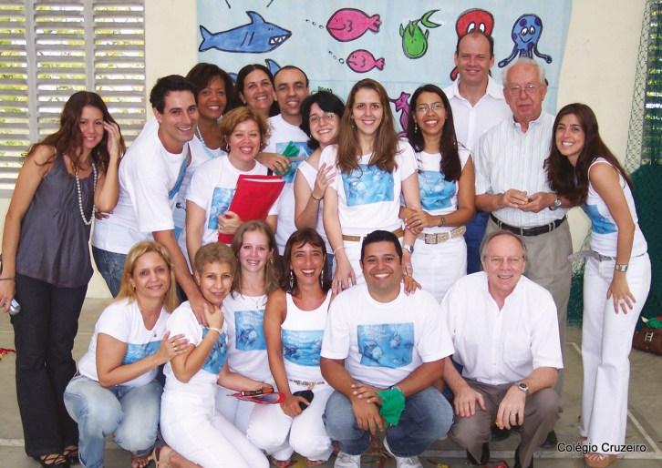 2007 - Teatro de alemão no Colégio Cruzeiro - Jacarepaguá