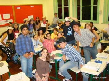 2008 - Alunos da Turma 300 do Colégio Cruzeiro - Centro