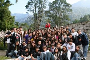 2009 - Alunos do 1º ano do Ensino Médio de Jacarepaguá em excursão a Itatiaia