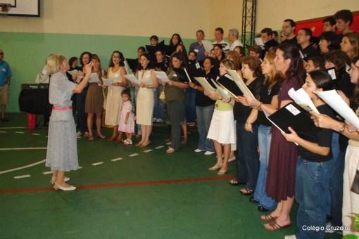 2006 - Apresentação do Coro dos Ex-Alunos