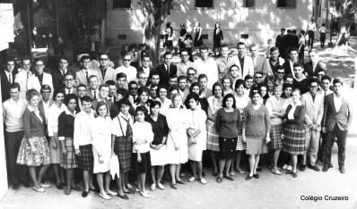 1963 - Comemoração do Centenário do Colégio Cruzeiro - Centro