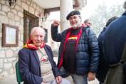 Josep Almudever con nuestro compañero Pepe Cabello. Torija. Óscar de Marcos/FMGU