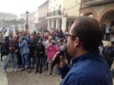 Intervención de Rubén García, alcalde de Torija. Xulio Garcia/FMGU