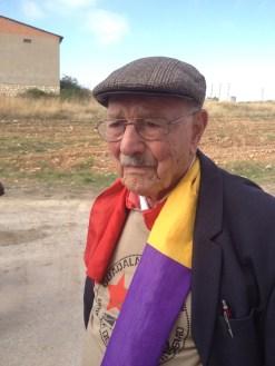 Josep Almudever, brigadista francés de origen español. Xulio Garcia/FMGU