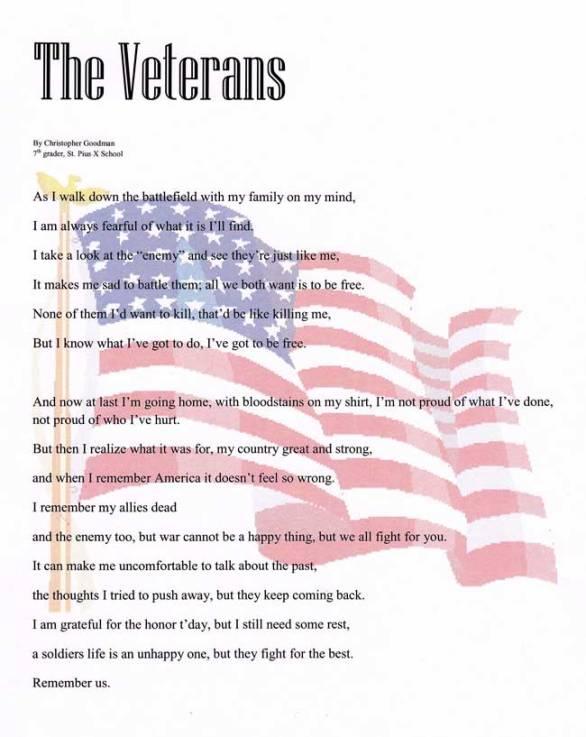 Memorial Day Poems for Veterans