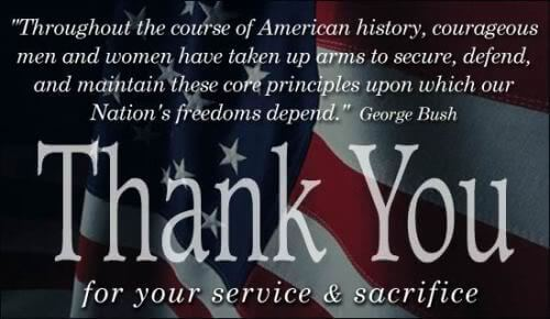 Thank You Memorial Day Quotes