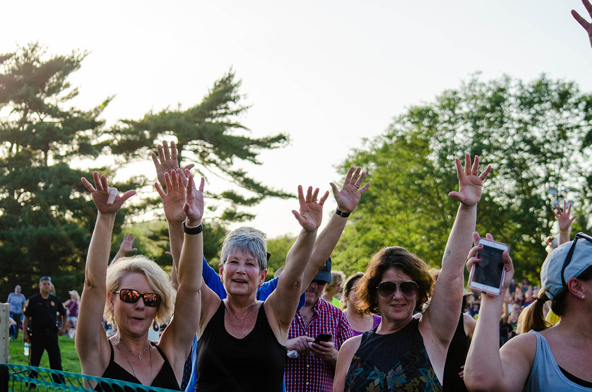 Crowd photo - Memorial Park Concert 2019