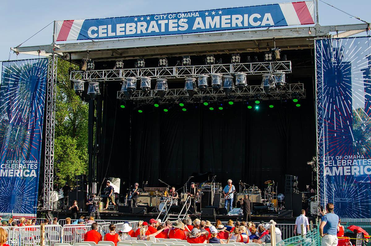 Stage - Memorial Park Concert 2019