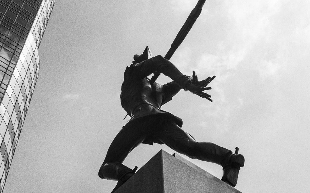 Katyn Massacre Memorial, Exchange Place, Jersey City, NJ
