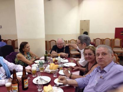 Investigadora Lilian, Delegado Nazare Kichachian, Investigadores Mário Gonçalves, Maria Damas e Luis Piacentini.