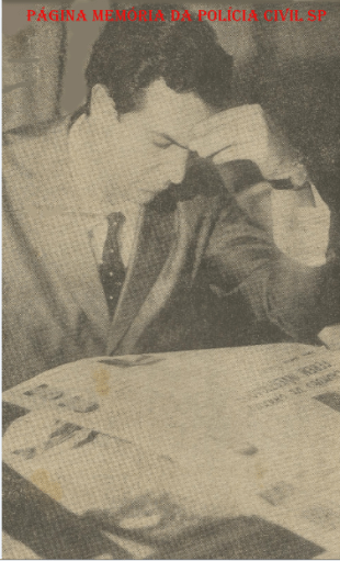 Delegado de Polícia, Wilson Richetti, na década de 70.