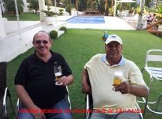 Grande dupla da Polícia Civil, desde os anos 70, Investigadores Cypriano R Santos e Valter Corrêa