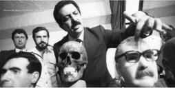 """Delegado de Polícia Romeu Tuma, """"in memorian"""", em um de seus principais trabalhos policiais: a descoberta da ossada de um dos mais procurados criminosos de guerra da Alemanha nazista, o médico Joseph Mengele, em 1.986."""