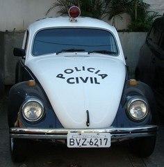 Viatura VW- Fusca.