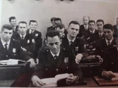 Guardas Civis na Escola de Polícia (1968).