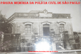 Antiga Delegacia de Policia d0 Município de Angatuba/SP - Seccional de Itapetininga - Deinter-7 (acervo do Policial Civil de Angatuba Dino Val Costa).