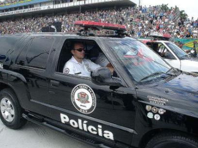 Antiga viatura da Coordenadoria Operacional da Delegacia Geral de Polícia.
