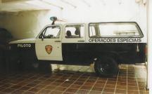 Viatura GOE do DECAP, década e 90.