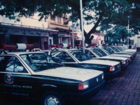Viaturas VW Gol, décad de 80