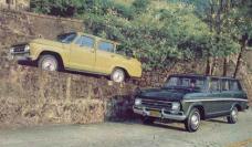 Viatura descaracterizada de especializadas do DEIC. Chevrolet Veraneio C 14. Década 70.
