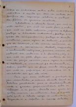 página 3 do manuscrito do Livro Investigação Policial do Delegado de Polícia Coriolano Nogueira Cobra, (enviada pelo Dr. Miguel Voigt Jr.)
