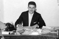 Delegado Romeu Tuma no início de sua carreira, na década de 60.