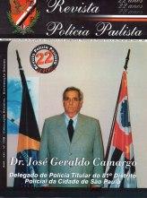 """Delegado de Polícia José Geraldo Camargo, o """"Picolé"""", antes de entrar na Policia Civil foi atleta profissional de futebol."""